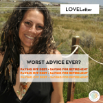 Loveletter: Worst advice ever?